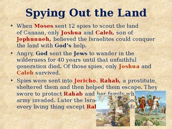 Religion - Heroes of the Old Testament - Joshua - Mighty Warrior of the Hebrews