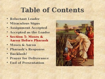 Religion - Heroes of the Old Testament - Moses - Deliverer of the Hebrews