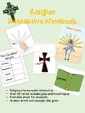 Religion Interactive Notebook