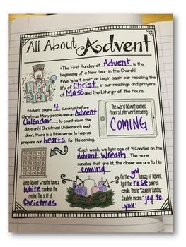 Religion Interactive Notebook: Advent