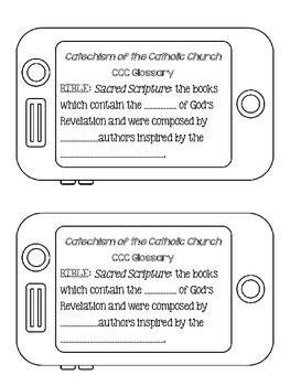 Religion Interactive Notebook: Bible Basics - Catholic Edition