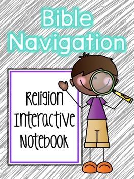 Religion Interactive Notebook: Bible Navigation
