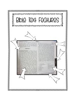 Religion Interactive Notebook: Bible Navigation