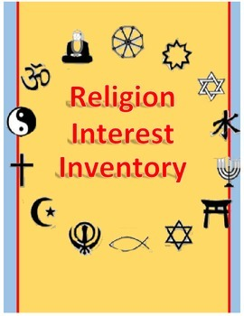 World History: Religion Interest Inventory