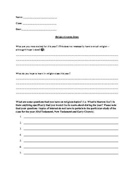 Religion Interest Survey