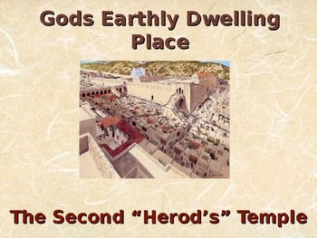 Religion - Jewish History - Gods Earthly Dwelling Place - Second Temple