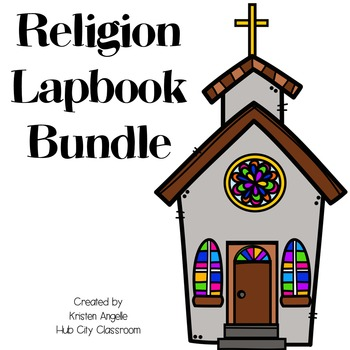Religion Lapbook Bundle