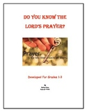 """""""Lord's Prayer"""" - Our Father"""