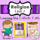 Religion Lessons: Unit 2 {Learning the Catholic Faith}