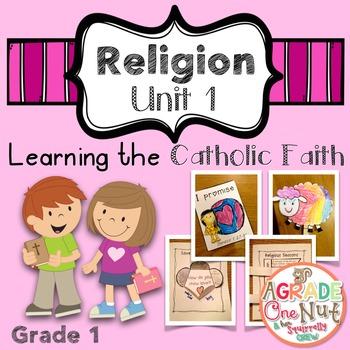 Religion Lessons: Unit 1 {Learning the Catholic Faith}