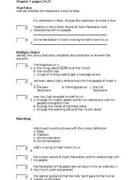 Religion Midterm Exam Study Guide