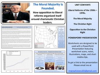 Religion & Politics Unit - American History -Turning Points