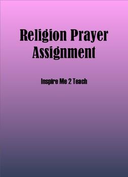 Religion Prayer Assignment
