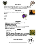 Religion Research Project (Gr. 3-6) English Language Arts