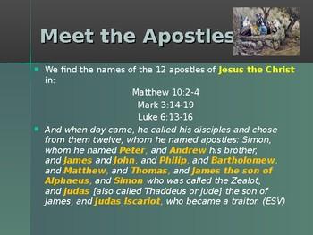 Religion – The Apostles of Jesus – John