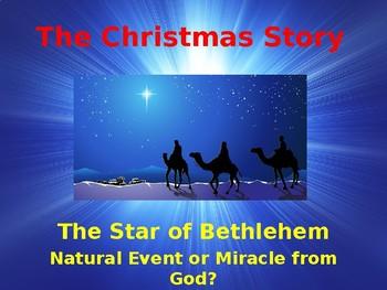 Celebrating Christmas - The Story of Christmas - The Star of Bethlehem