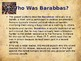 Religion - The Easter Story - Barabbas
