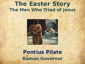 Religion - The Easter Story – The Men Who Tried Jesus -  P