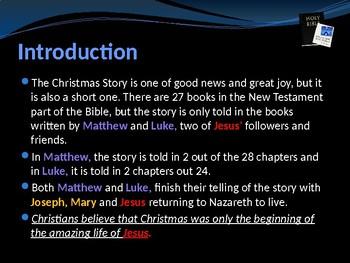 Religion - The Story of Christmas - Part 2 - Elizabeth, Zechariah & John
