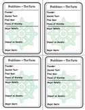 Religion Trading Cards:  Buddhism