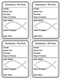 Religion Trading Cards:  Christianity