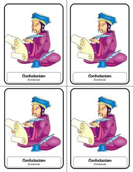 Religion Trading Cards:  Confucianism