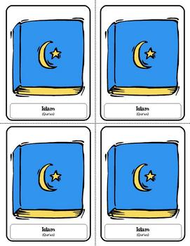 Religion Trading Cards: Islam