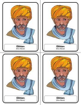 Religion Trading Cards: Sikhism