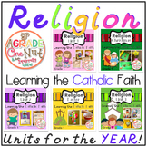 Religion Units for the Year {Learning the Catholic Religion}