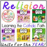 Religion Units for the Year {Learning the Catholic Religion} Bundle