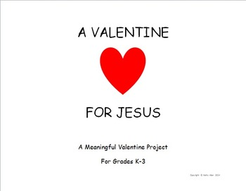 A Valentine For Jesus Art Project