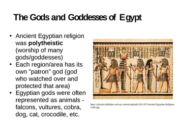 Religion in Ancient Egypt PowerPoint