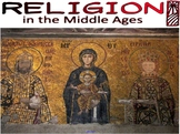 Religion in the Middle Ages Smartboard Presentation