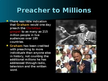Religion in the United States - Dr Billy Graham