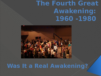 Religion in the United States - The Fourth Great Awakening