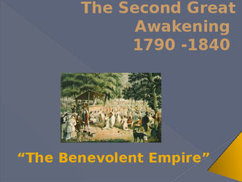 Religion in the United States - The Second Great Awakening