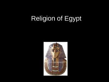 Religion of Egypt Powerpoint