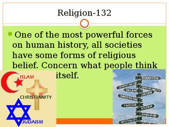 Religion vocab terms