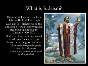 Religions PowerPoint: Judaism, Christianity, and Islam