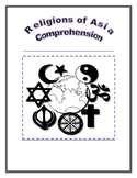 Religions of Asia: Comprehension Activity