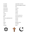 Religions of Europe Tic Tac Toe