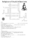 Religions of S & E Asia Crossword