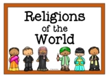 Religions of the World Printables