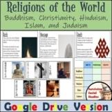 Religions of the World - Buddhism, Christianity, Hinduism, Islam, & Judaism