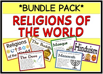 Religions of the World (BUNDLE PACK)