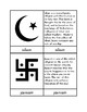 Religions of the World - Three Part Cards