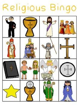 Religious Bingo