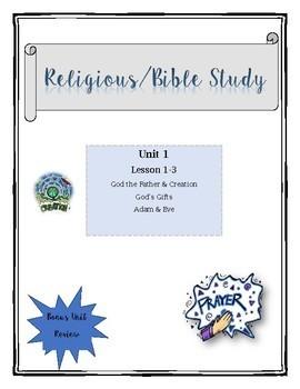 Religious/CCD Lesson Plans