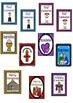 Religious Cards: Eucharist, Confirmation, Sacraments, East