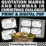 Quotation Marks Task Cards Religious Christmas Activities, Christian Education